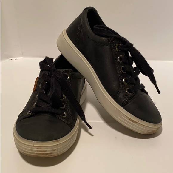 Ecco Shoes | Kids Leather Sneakers